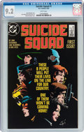 Modern Age (1980-Present):Superhero, Suicide Squad #1 (DC, 1987) CGC NM- 9.2 White pages....