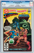 Modern Age (1980-Present):Superhero, DC Comics Presents #47 Superman and the Masters of the Universe(DC, 1982) CGC NM+ 9.6 White pages....