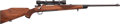 Long Guns:Bolt Action, Springfield 1903 Bolt Action Rifle with Telescopic Sight....