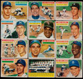 Baseball Cards:Sets, 1956 Topps Baseball Partial Set (190/340) With Stars and HoFers....
