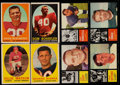 Football Cards:Sets, 1958 & 1962 Topps Partial Sets Collection (2)...