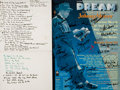 Books:Prints & Leaves, [Musical Theater]. Manuscript Set List, Plus SIGNED Cast Poster. [n.d., circa 2002]. . ...