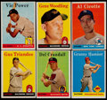 Baseball Cards:Lots, 1958 Topps Baseball Collection (188)....