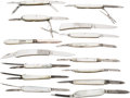 Edged Weapons:Knives, Lot of 15 Pearl Folders....