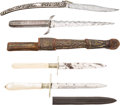 Edged Weapons:Knives, Lot of 4 Knives. ...