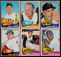 Baseball Cards:Lots, 1965 Topps Baseball Collection (286) With 119 High Numbers....
