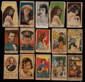 "Non-Sport Cards:Lots, 1920's Non-Sports ""W"" Strip Card Collection (90+). ..."