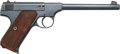 Handguns:Semiautomatic Pistol, Colt Woodsman Semi-Automatic Pistol with Leather Holster....