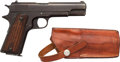 Handguns:Semiautomatic Pistol, M.H. Whitman Model 1914 Semi-Automatic Pistol with Leather Holster....