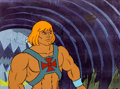 Animation Art:Production Cel, He-Man and the Masters of the Universe Production Cel(Filmation, 1984).. ...