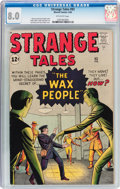 Silver Age (1956-1969):Science Fiction, Strange Tales #93 (Marvel, 1962) CGC VF 8.0 Off-white pages....