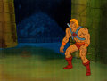 Animation Art:Production Cel, He-Man and the Masters of the Universe Production Cel andAnimation Drawing Group (Filmation, 1984).... (Total: 2 OriginalArt)