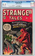 Silver Age (1956-1969):Science Fiction, Strange Tales #99 (Marvel, 1962) CGC VF+ 8.5 Off-white to white pages....