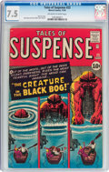 Silver Age (1956-1969):Horror, Tales of Suspense #23 (Marvel, 1961) CGC VF- 7.5 Off-white to whitepages....