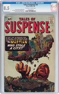 Silver Age (1956-1969):Adventure, Tales of Suspense #29 (Marvel, 1962) CGC VF+ 8.5 Off-white to white pages....