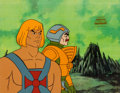 Animation Art:Production Cel, He-Man and the Masters of the Universe Man-At-ArmsProduction Cel (Filmation, 1984).... (Total: 3 Original Art)
