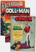 Golden Age (1938-1955):Miscellaneous, Comic Books - Assorted Golden Age Comics Group of 9 (Various Publishers, 1940s) Condition: Average VG.... (Total: 9 Comic Books)