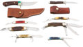 Edged Weapons:Knives, Lot of Assorted Case Knives....