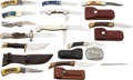 Edged Weapons:Knives, Lot of 14 Assorted Boxed Knives....