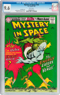 Silver Age (1956-1969):Science Fiction, Mystery in Space #105 Boston pedigree (DC, 1966) CGC NM+ 9.6 Whitepages....