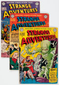 Golden Age (1938-1955):Science Fiction, Strange Adventures Group of 15 (DC, 1951-53) Condition: AverageGD/VG.... (Total: 15 Comic Books)