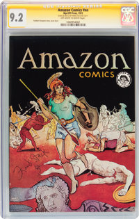 Amazon Comics #nn (Rip Off Press, 1972) CGC Signature Series NM- 9.2 Off-white to white pages