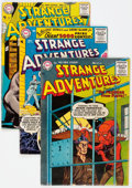 Silver Age (1956-1969):Science Fiction, Strange Adventures Group of 22 (DC, 1956-70) Condition: AverageVG+.... (Total: 22 Comic Books)
