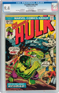 Bronze Age (1970-1979):Superhero, The Incredible Hulk #180 (Marvel, 1974) CGC NM 9.4 Off-whitepages....