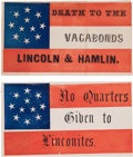 Military & Patriotic:Civil War, Confederate Patriotic Covers.... (Total: 2 Items)