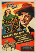 """Movie Posters:Western, Beauty and the Bandit (Monogram, 1946). One Sheet (27"""" X 41""""). Western.. ..."""