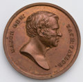 Political:Tokens & Medals, Zachary Taylor: Very scarce ZT 1848-12, brass, 32 mm. Choice uncirculated condition. Thick planchet indicates this is an 186...