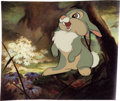 Animation Art:Color Model, Bambi Thumper Color Model/Publicity Cel (Walt Disney,1942)....
