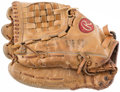 Baseball Collectibles:Others, 1980's Danny Heep Game Used Glove. ...