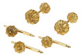 Estate Jewelry:Cufflinks, Gold Dress Set, Schlumberger for Tiffany & Co.. ...