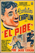 """Movie Posters:Comedy, The Kid (Radium Films, 1920s). Argentinean Poster (29"""" X 43.5""""). Comedy.. ..."""