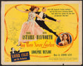 """Movie Posters:Musical, You Were Never Lovelier (Columbia, 1942). Half Sheet (22"""" X 28"""") Style A. Musical.. ..."""