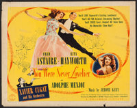 """You Were Never Lovelier (Columbia, 1942). Half Sheet (22"""" X 28"""") Style A. Musical"""