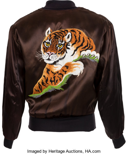The Iconic Tiger Jacket From Rocky Ii Movietv Memorabilia