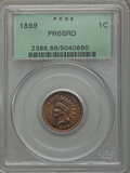 Proof Indian Cents, 1899 1C PR66 Red PCGS....