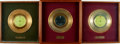 Books:Furniture & Accessories, [Gold Records]. Group of Three Rod McKuen Gold Record Awards. . ...(Total: 3 Items)