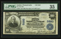 National Bank Notes:Pennsylvania, Ambler, PA - $10 1902 Plain Back Fr. 624 The First NB Ch. # 3220....