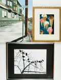 Books:Prints & Leaves, [Art]. Mitchell Ayres, photographer. Framed Photograph by AyresEntitled, Winter Symphony. Shot by composer Mitc... (Total:3 Items)