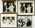 Books:Photography, [Photography]. Group of Four Framed Photographs of Rod McKuen with the Queen and Frank Sinatra. Circa 1969. . ... (Total: 4 Items)