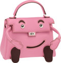 Luxury Accessories:Bags, Hermes Limited Edition 5P Bubblegum Pink Swift Leather Quelle IdoleKelly Doll Bag with Palladium Hardware. Pristine Condi...