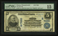 National Bank Notes:Pennsylvania, Cherry Tree, PA - $5 1902 Plain Back Fr. 598 The First NB Ch. #(E)7000. ...
