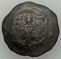 Ancients:Byzantine, Ancients: Andronicus I Comnenus (1183-1185). BI aspron trachy(30mm, 3.85 g, 6h)....