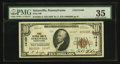 National Bank Notes:Pennsylvania, Sykesville, PA - $10 1929 Ty. 2 First NB Ch. # 14169. ...