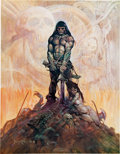 Memorabilia:Poster, Frank Frazetta Poster Group of 21 (c. 1970s-80s).... (Total: 21Items)