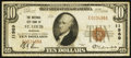 National Bank Notes:Missouri, Saint Louis, MO - $10 1929 Ty. 1 National City Bank Ch. # 11989....