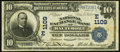 National Bank Notes:Maryland, Baltimore, MD - $10 1902 Date Back Fr. 616 The National ExchangeBank Ch. # (E)1109. ...